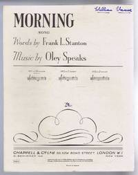 Morning, song. No. 1 in B flat minor. No. 934 (Le Jour)