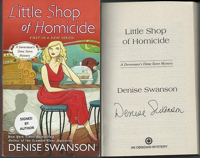 LITTLE SHOP OF HOMICIDE, Swanson, Denise