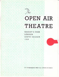 The Open Air Theatre: Regent\'s Park, London, Sixth Season, 1938