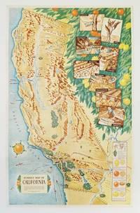 Sunkist Map of California.