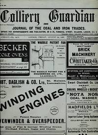 The Colliery Guardian and Journal of the Iron and Coal Trades. August 19th 1927 [No. 3477]