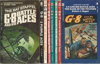"""""""G-8 AND HIS BATTLE ACES"""" SERIES: # 1 The Bat Staffel / # 2 Purple Aces / # 3 Ace of the White Death / # 4 Bombs from the Murder Wolves / # 5 Vultures of the White Death / # 6 Flight from the Grave / # 7 Fangs of the Sky Leopard / # 8 Mark of the Vulture"""