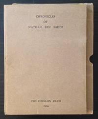 A Fragment of the Chronicles of Nathan Ben Saddi (Facsimile)