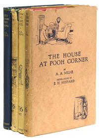 Complete set of first editions of the Pooh books, comprising When We Were Very Young (1924); Winnie-the-Pooh (1926); Now We Are Six (1927); The House at Pooh Corner (1928)