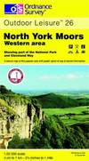 image of North York Moors: Western Area (Outdoor Leisure Maps)