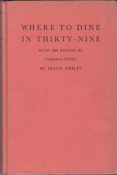 New York: Crown Publishers, 1939. Octavo (22 x 15 cm.), 126 pages. FIRST EDITION. Produced, presumab...
