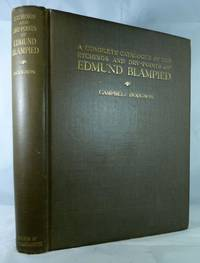 A Complete Catalogue Of The Etchings And Dry-Points Of Edmund Blampied