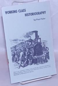 image of Working class historiography
