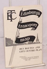 Edinburgh corporation transport [map], bus routes