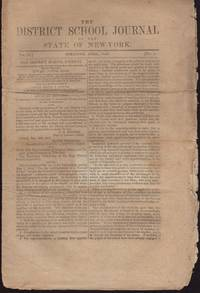 image of District School Journal of the State of New York. Vol. IX, No. 1