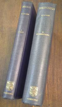 Theocritus:  Text & Commentary. 2 Volume Set