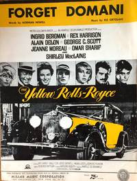 FORGET DOMANI - The Yellow Rolls Royce