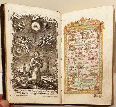German Manuscript Prayer Book....