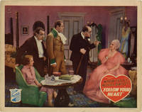image of Follow Your Heart (Two original lobby cards for the 1936 film)
