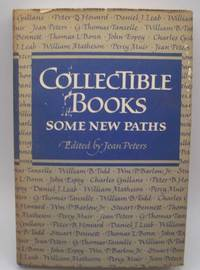 Collectible Books: Some New Paths