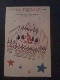 Knit O Graf No. 213 - Norwegian Skier Knitting Pattern
