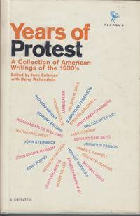 Years of Protest. A Collection of American Writings of the 1930s