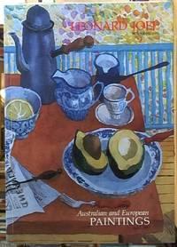 Australian and European Paintings November 1991