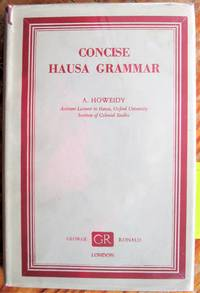 image of Concise Hausa Grammar