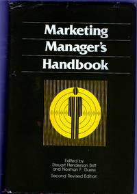 The Dartnell Marketing Manager's Handbook: Second Edition