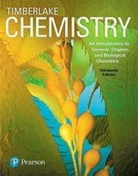 image of Chemistry: An Introduction to General, Organic, and Biological Chemistry (13th Edition)