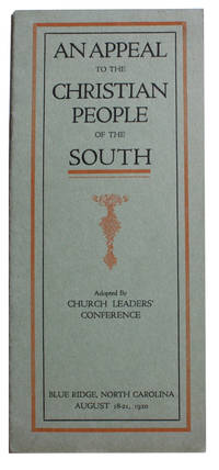 An Appeal To The Christian People of the South