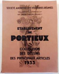 Etablissement De Portieux. Collection Des Dessins Des Principaux Articles 1933