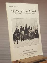 The Valley Forge Journal: Volume IV, Number 1