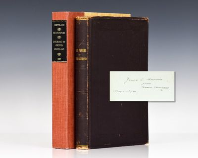 Washington DC: Government Printing Office, 1889. First edition of the collected papers of Grover Cle...