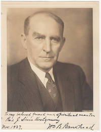 [Photograph] Inscribed Portrait of William B. Bankhead, 42nd Speaker of the House of Representatives