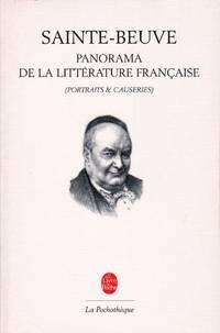 Panorama de la littérature française (Portraits & Causeries).