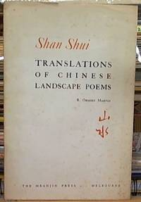 image of Shan Shui; Translations of Chinese Landscape Poems