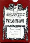 image of Reprint of the First Edition of the One-inch ORDNANCE SURVEY of England and Wales : Sheet No. 21 : Huddersfield & Manchester