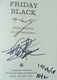 FRIDAY BLACK (SIGNED, DATED & NYC)