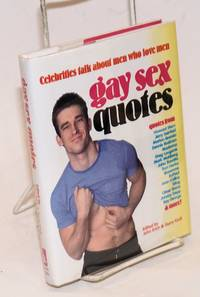 image of Gay Sex Quotes: celebrities talk about men who love men