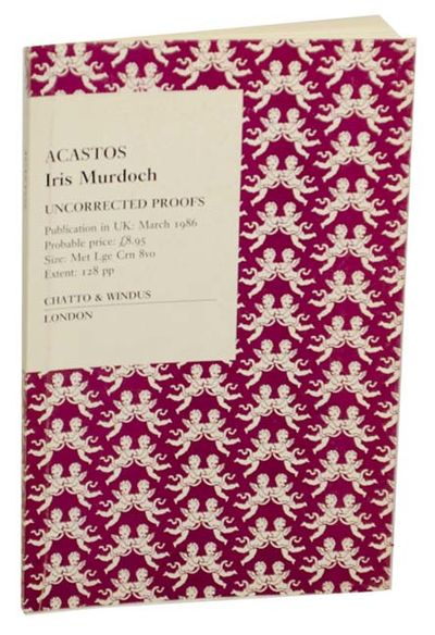 London: Chatto & Windus, 1985. First edition. Softcover. Uncorrected proof. A later work from this B...