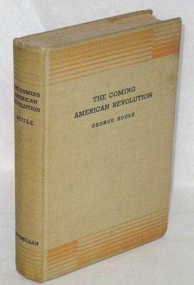 New York: The Macmillan Company, 1934. 314p., original cloth binding slighlty soiled, corners bumped...