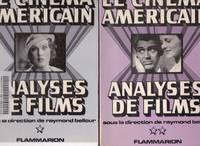 image of Le cinéma américain - Analyses de films.   ( 2 VOLUMES )
