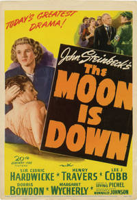 The Moon Is Down (Original mini window card poster for the 1943 film)