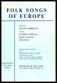 image of FOLK SONGS OF EUROPE