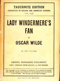 lady windermere s fan wilde oscar