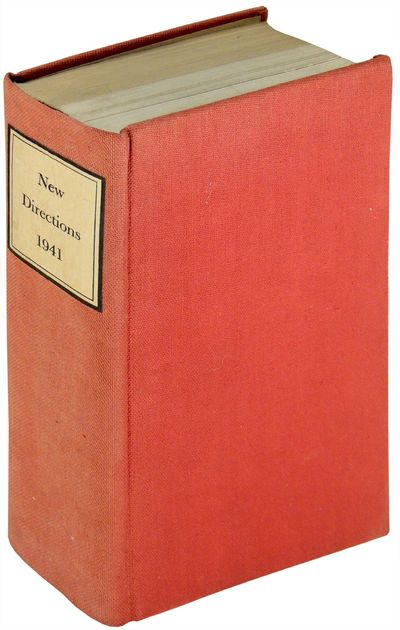 Norfold, CT: New Directions, 1941. Hardcover. Very Good. Hardcover. First edition. Includes John Ber...