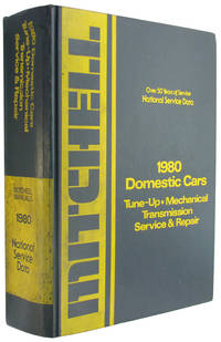 National Service Data: 1980 Domestic Cars: Tune Up, Mechanical, Transmission, Service and Repair