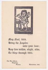 May Noel 1924 [A Christmas Greeting]