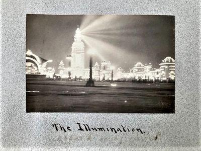 1900-1902 TRAVEL PHOTO ALBUM