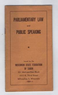 Parliamentary Law and Public Speaking