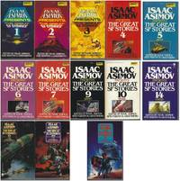 """ISAAC ASIMOV PRESENTS THE GREAT SF STORIES"" SERIES 13 VOLUMES: # 1 1939 / # 2 1940 / # 3 1941 / # 4 1942 / # 5 1943 / # 6 1944 / # 7 1945 / # 9 1947 / # 10 1948 / # 14 1952 / # 15 1953 / # 20 1958 / # 21 1959"