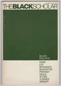 The Black Scholar : Journal of Black Studies and Research, Volume 1, Number 2 (December 1969) - Black Politics