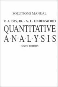 Solutions Manual: Quantitiative Analysis