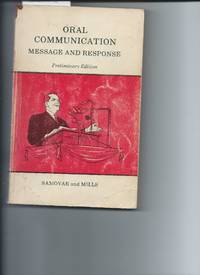 Oral Communication Message and Response